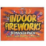 Indoor fireworks and sparklers