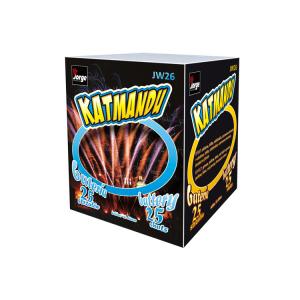 Katmandu cake barrage fireworks
