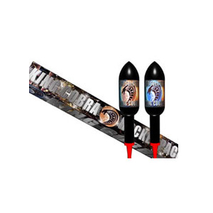 King Cobra rockets fireworks 2 pack