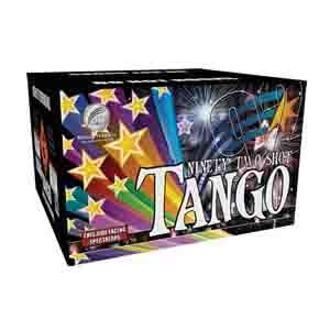 Tango fireworks cake