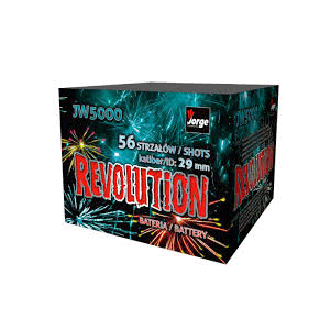 revolution cake barrage fireowrks
