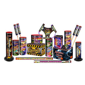jamboree fireworks selection box