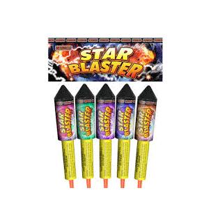 star blaster fireworks rockets pack