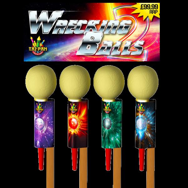 wrecking balls rockets large rockets