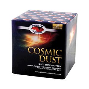cosmic dust firework kimbolton