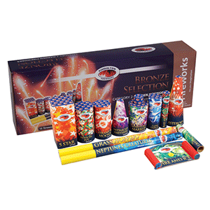 bronze selection box by Kimbolton fireworks