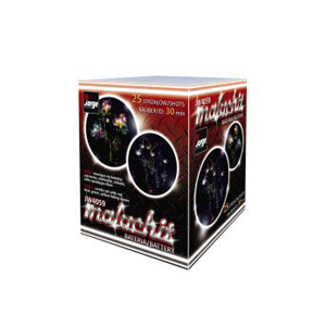 malachit fireworks cake barrage