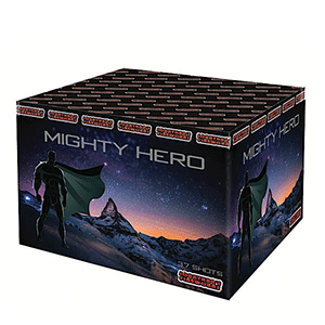 mighty hero fireworks