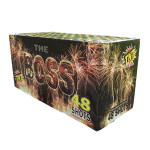 the Boss TNT fireworks