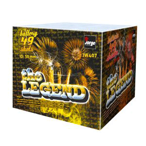 the legend fireworks