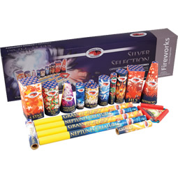 silver selection box kimbolton fireworks