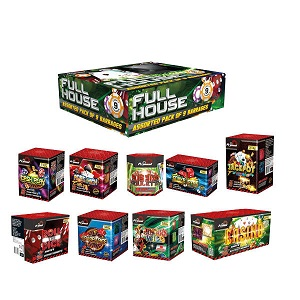 assorted firework display pack large