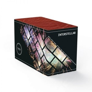 Interstellar straight firing firework cake