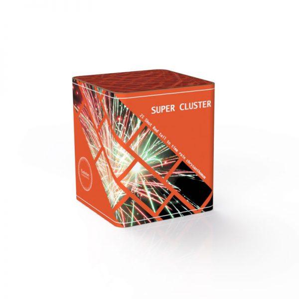 super cluster crackling effect firework