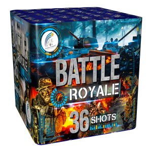 battle-royale firework cake single ignition