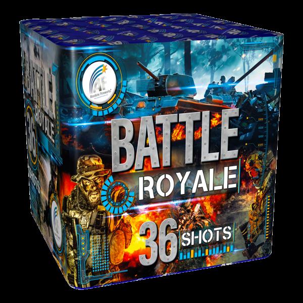 battle-royale firework cake single ignition