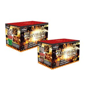 Glittering Prize 2 in 1 firework pack