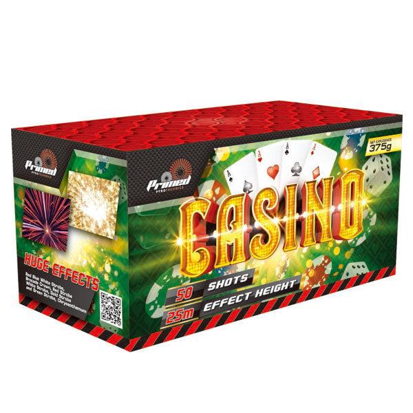 Casino Fireworks Cake