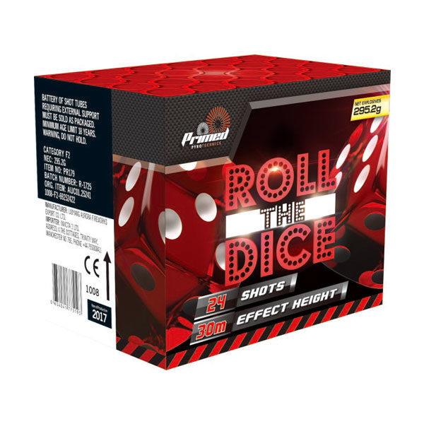 Roll the Dice Cat 2 Fireworks