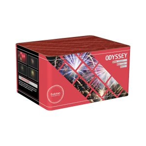odyssey category 3 barrage cake fireworks