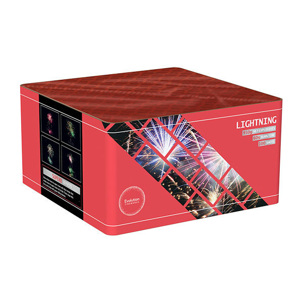 Lightning Fireworks Single Ignition Cake